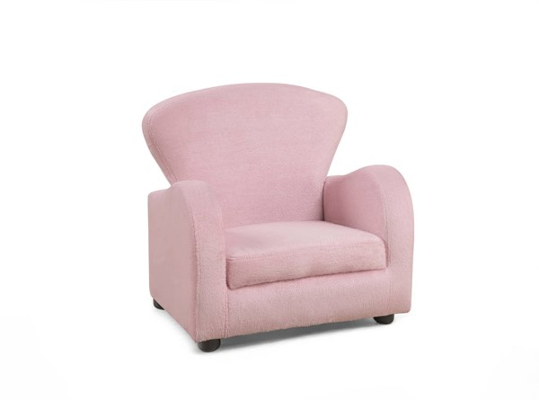 Monarch Specialties Pink Fabric Juvenile Chair MNC-I-8142