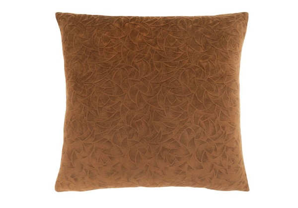 Monarch Specialties Light Brown Floral Pillow MNC-I-9268