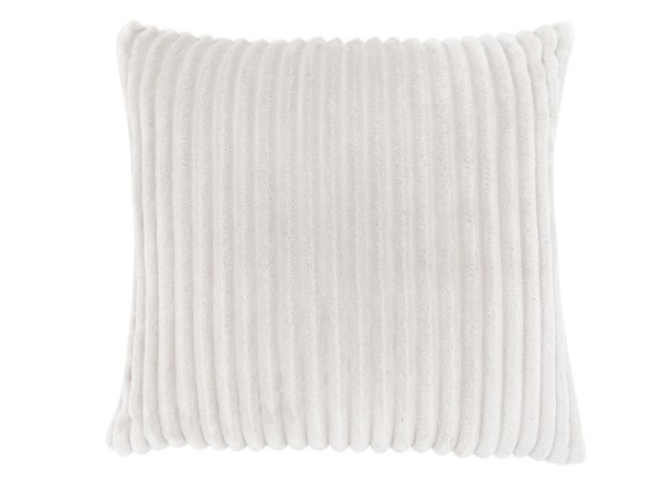 Monarch Specialties Ivory Ultra Soft Ribbed Pillow MNC-I-9350