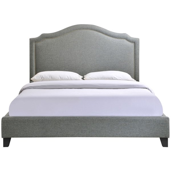Modway Furniture Charlotte Queen Bed MOD-5045-GRY-SET