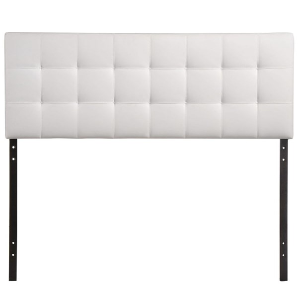Modway Furniture Lily White Vinyl Queen Headboard MOD-5130-WHI