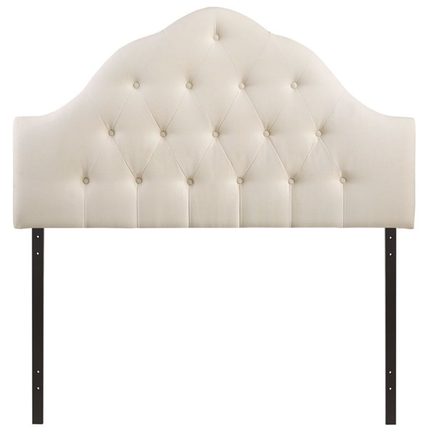 Modway Furniture Sovereign Ivory Fabric Full Headboard MOD-5164-IVO