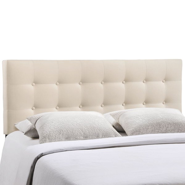 Modway Furniture Emily Ivory Fabric Full Headboard MOD-5172-IVO
