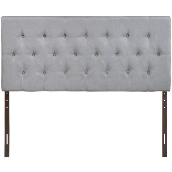 Modway Furniture Clique Sky Gray Full Headboard MOD-5204-GRY