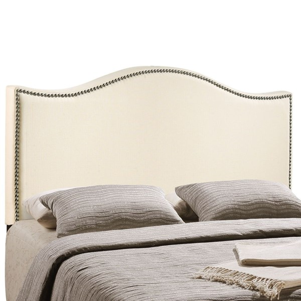 Modway Furniture Curl Ivory Full Upholstered Headboard MOD-5208-IVO