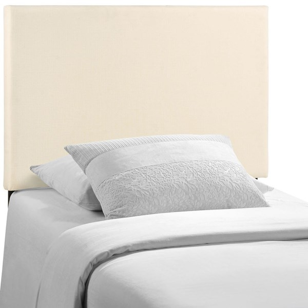 Modway Furniture Region Ivory Twin Upholstered Headboard MOD-5214-IVO