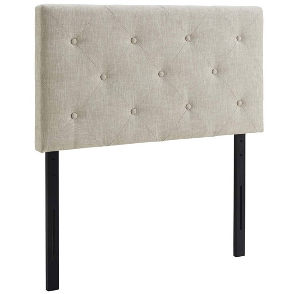 Modway Furniture Terisa Beige Twin Upholstered Headboard MOD-5366-BEI