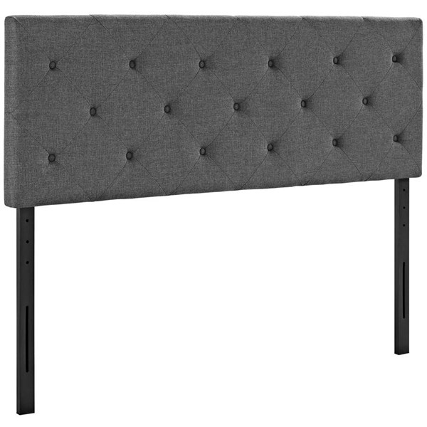 Modway Furniture Terisa Gray Full Upholstered Headboard MOD-5368-GRY