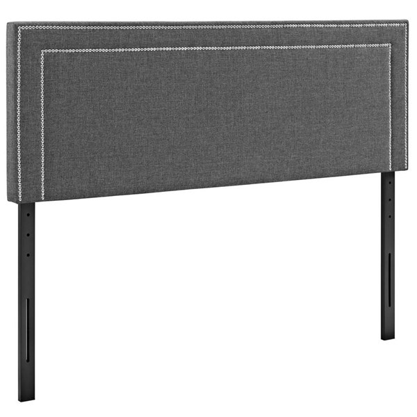 Modway Furniture Jessamine Gray Full Upholstered Headboard MOD-5376-GRY