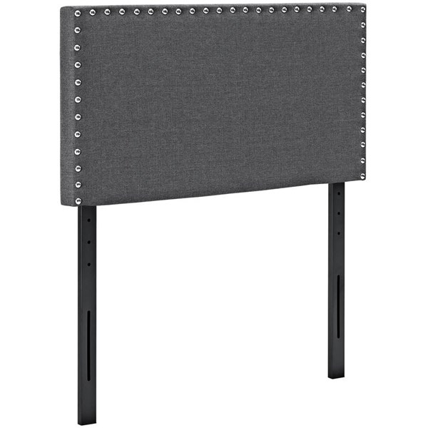 Modway Furniture Phoebe Gray Twin Upholstered Headboard MOD-5382-GRY