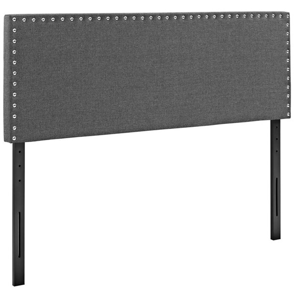 Modway Furniture Phoebe Gray Full Upholstered Headboard MOD-5384-GRY