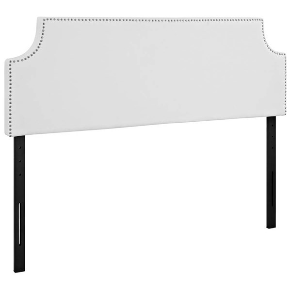Modway Furniture Laura White Vinyl Queen Headboard MOD-5393-WHI
