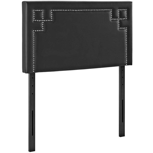Modway Furniture Josie Black Vinyl Twin Headboard MOD-5397-BLK