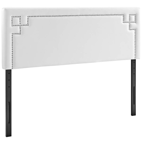 Modway Furniture Josie White Vinyl Full Headboard MOD-5399-WHI