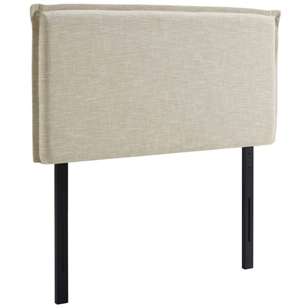Modway Furniture Camille Beige Twin Upholstered Headboard MOD-5405-BEI