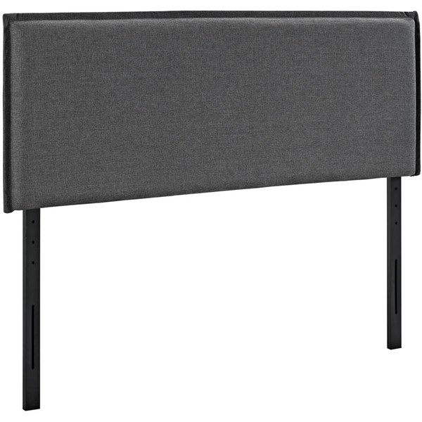 Modway Furniture Camille Gray Full Upholstered Headboard MOD-5406-GRY