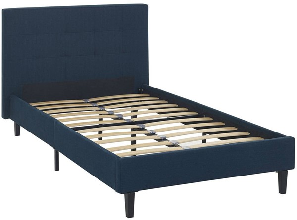 Modway Furniture Linnea Azure Twin Bed MOD-5422-AZU