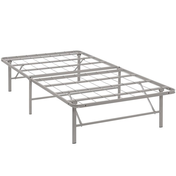 Modway Furniture Horizon Gray Twin Bed Frame MOD-5427-GRY