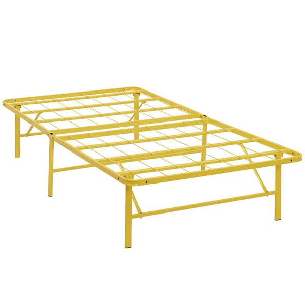 Modway Furniture Horizon Yellow Twin Bed Frame MOD-5427-YLW