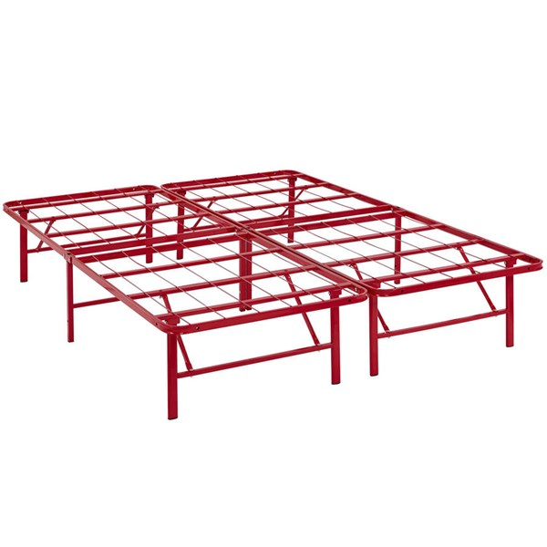 Modway Furniture Horizon Red Queen Bed Frame MOD-5429-RED