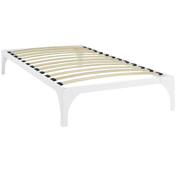 Modway Furniture Ollie White Twin Bed Frame MOD-5430-WHI