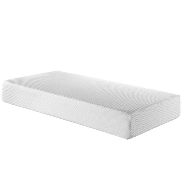 Aveline Traditional White Memory Foam 10 Inch Twin Mattress MOD-548-MAT-VAR