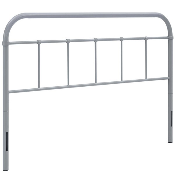 Modway Furniture Serena Gray Full Steel Headboard MOD-5535-GRY