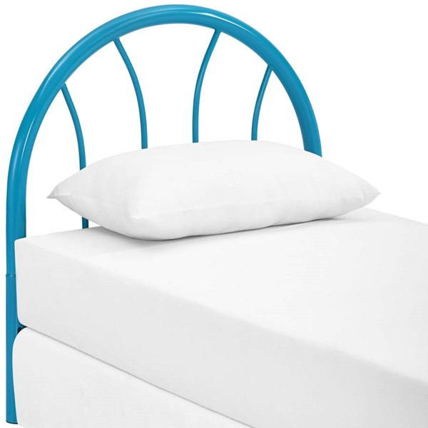 Modway Furniture Damaris Light Blue Twin Steel Headboard MOD-5538-LBU