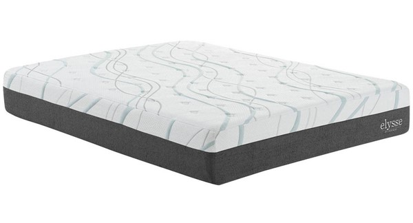 Modway Furniture Elysse 12 Inch Queen Gel Infused Hybrid Mattress MOD-5579-WHI