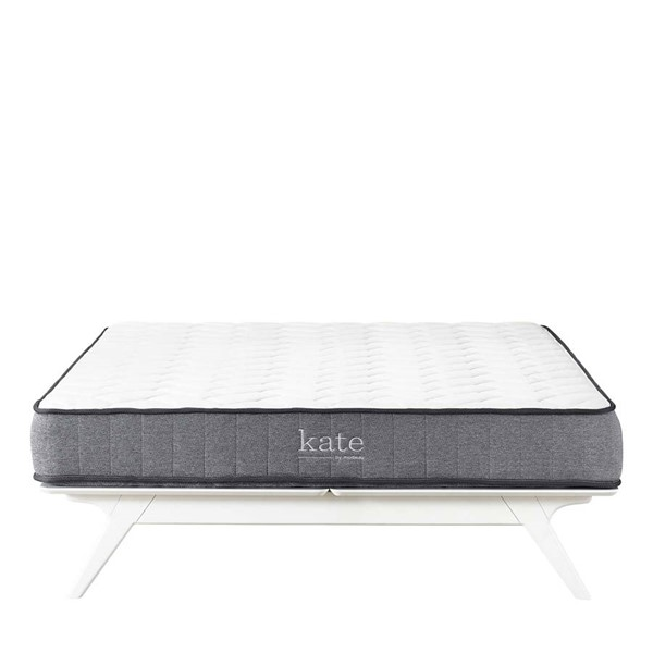 Modway Furniture Kate White 8 Inch Queen Mattress MOD-5778-WHI
