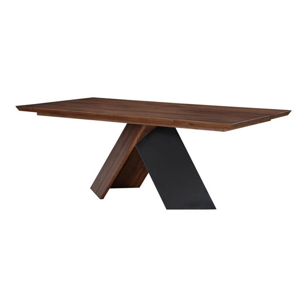Moes Home Axio Brown Solid Wood Dining Table MOE-BC-1043-03