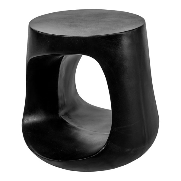 Moes Home Rothko Black Outdoor Stool MOE-BQ-1055-02