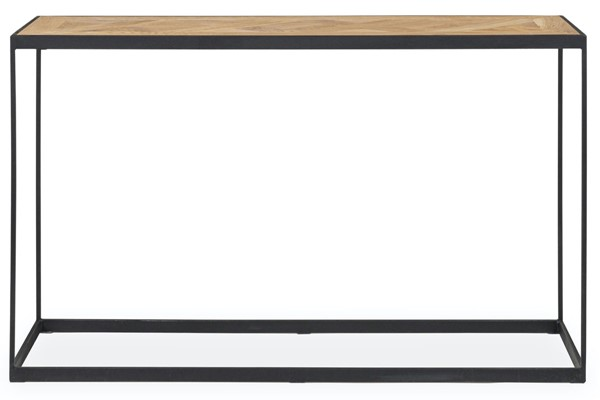 Moes Home Again Natural Oiled Console Table MOE-CON-PD-014-023