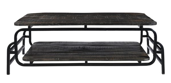 Moes Home Aldren Natural Wood Rectangle Coffee Table MOE-DR-1312-24