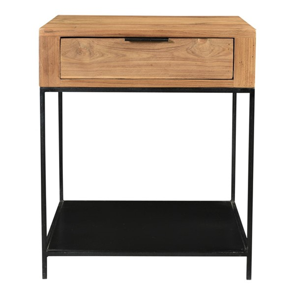 Moes Home Joliet Natural Side Table MOE-DR-1323-24