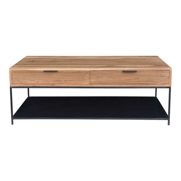 Moes Home Joliet Natural Coffee Table MOE-DR-1324-24