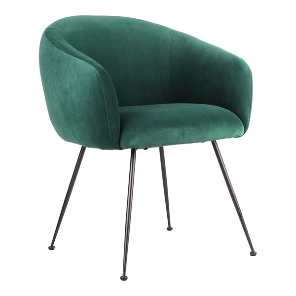 Moes Home Clover Green Fabric Dining Chair MOE-EH-1108-16