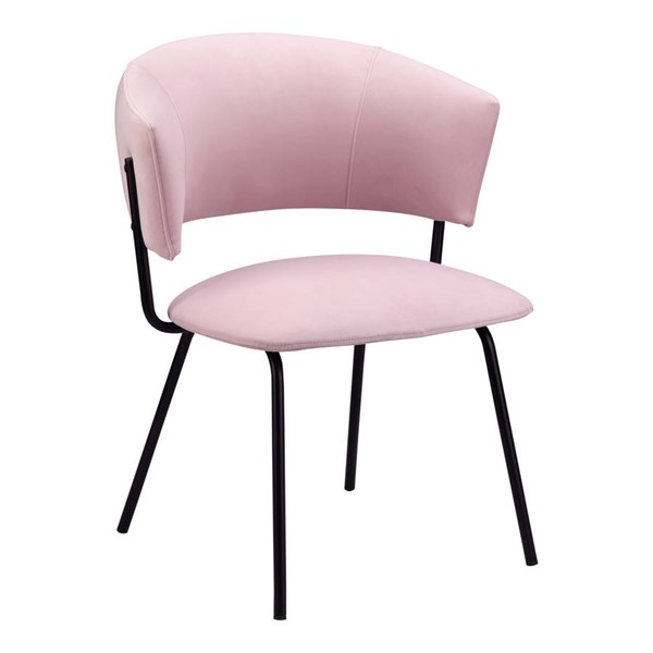 Moes Home Isabella Modern Pink Dining Chair MOE-EH-1110-33