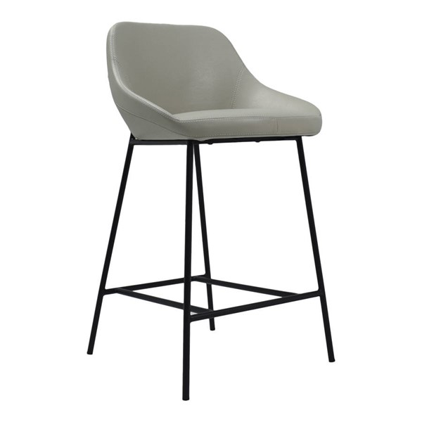 Moes Home Shelby Beige Faux Leather Counter Height Stool MOE-EJ-1038-34
