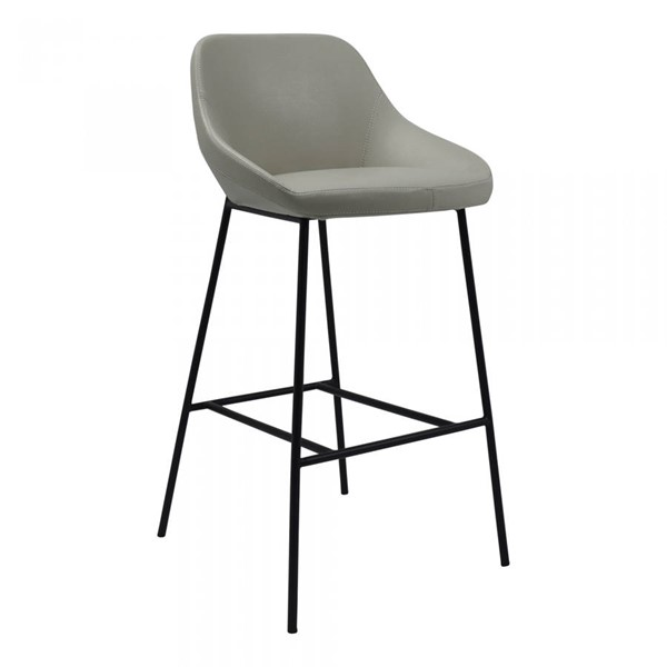 Moes Home Shelby Beige Faux Leather Bar Stool MOE-EJ-1039-34