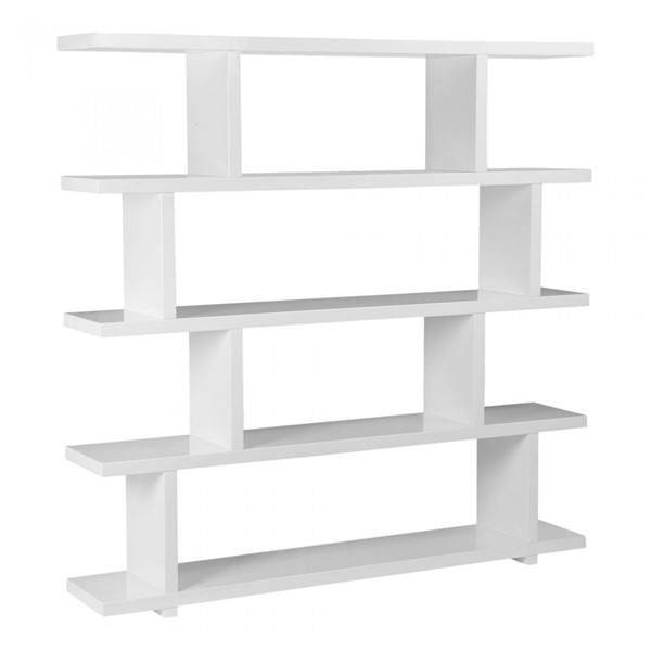 Moes Home Miri White Large Shelf MOE-ER-1073-18