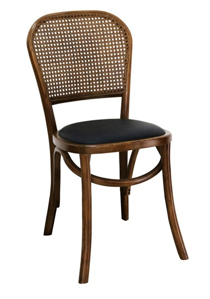 2 Moes Home Bedford Light Brown Rattan Dining Chairs MOE-FG-1014-21
