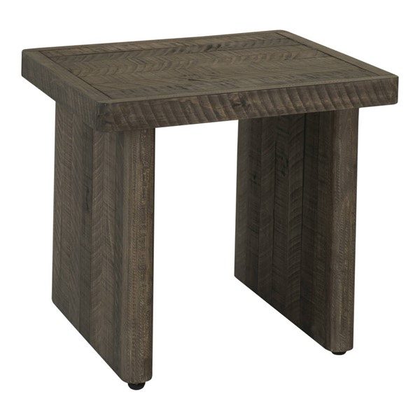 Moes Home Monterey Driftwood End Table MOE-FR-1026-29
