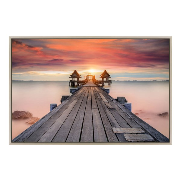 Moes Home Tempered Glass Pier Wall Decor MOE-FX-1217-37