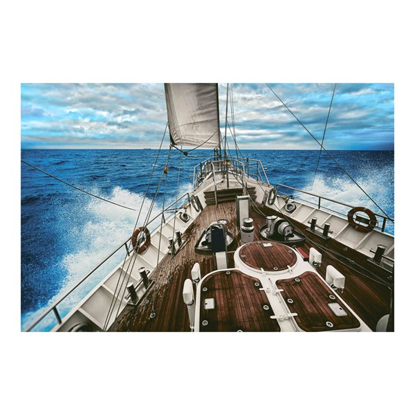 Moes Home Tempered Glass Point Of Sail Wall Decor MOE-FX-1221-37