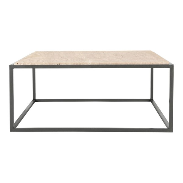 Moes Home Winslow Cappuccino Marble Coffee Table MOE-GK-1002-14