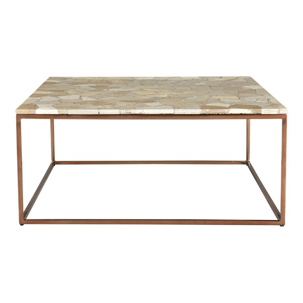 Moes Home Moxie Natural Marble Coffee Table MOE-GZ-1018-24