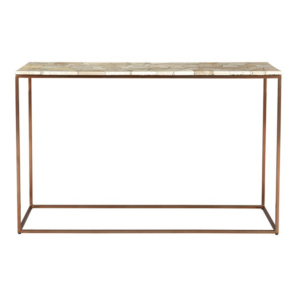 Moes Home Moxie Natural Marble Console Table MOE-GZ-1019-24