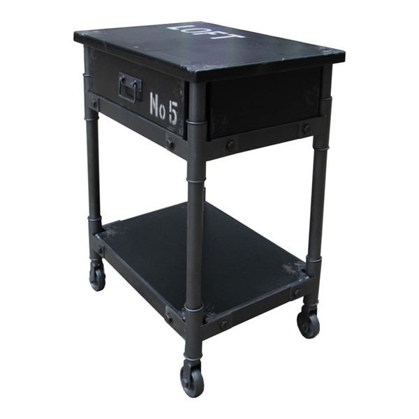 Moes Home Soho Black Drawer Cabinet MOE-HU-1093-02
