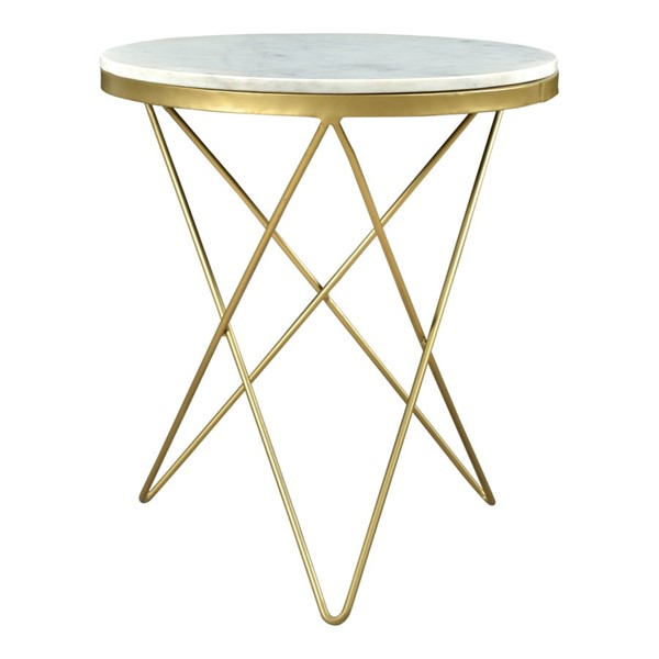 Moes Home Haley Marble Side Tables MOE-IK-1001-ET-VAR
